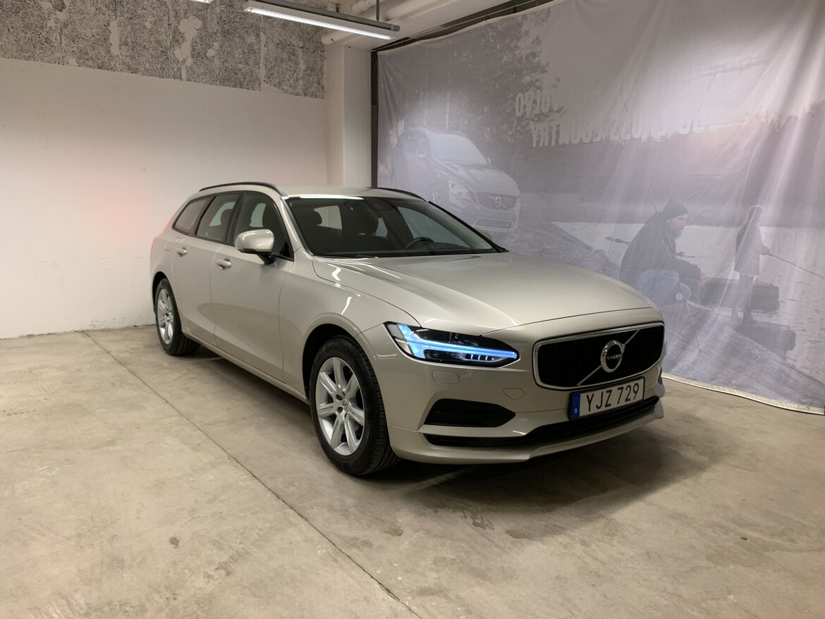 Volvo V90 Kinetic, Business Brun