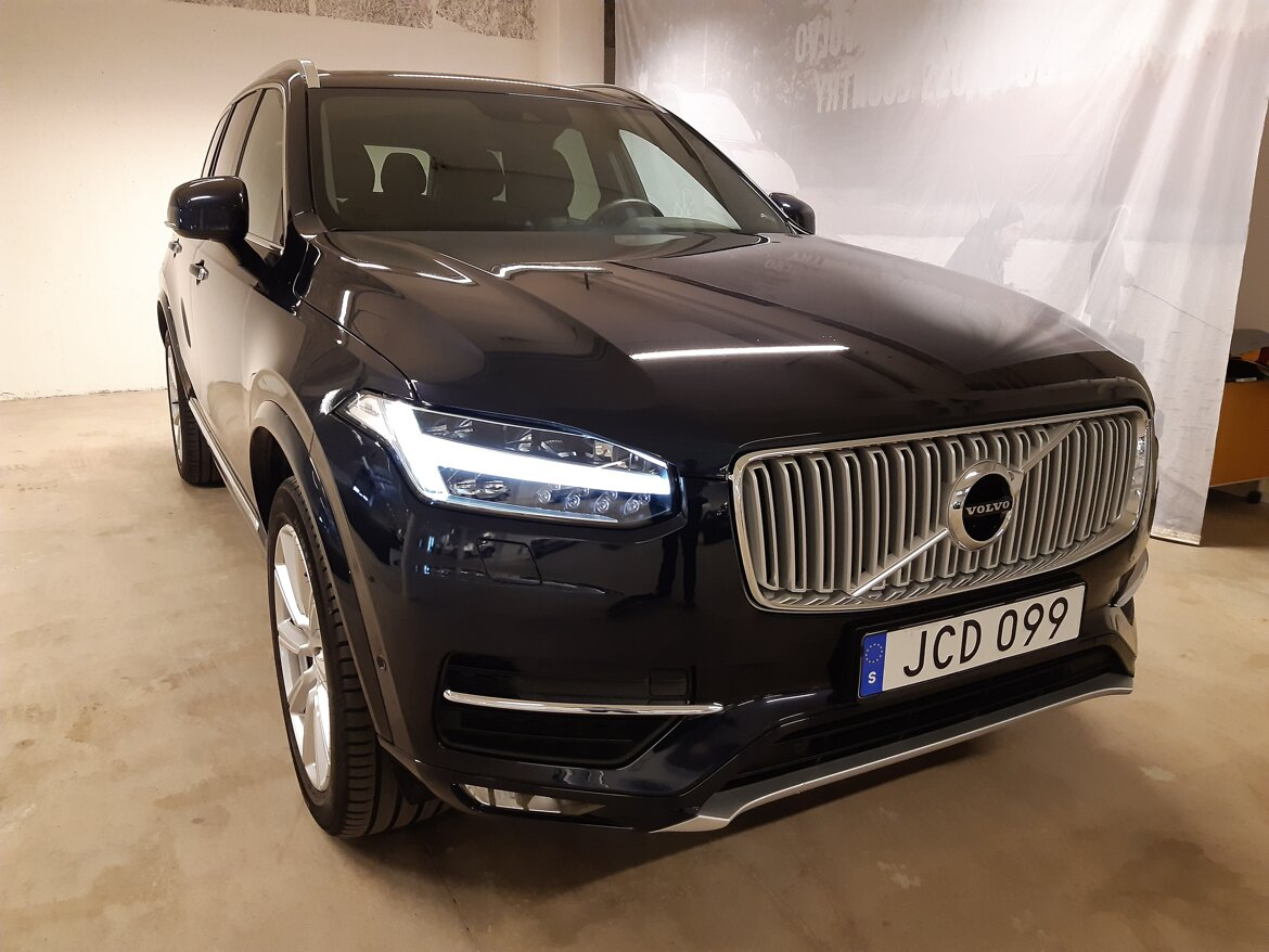 Volvo XC90 Inscription Blå