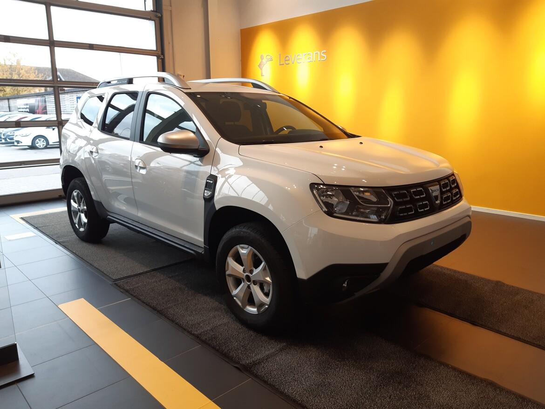 Dacia Duster  Vit