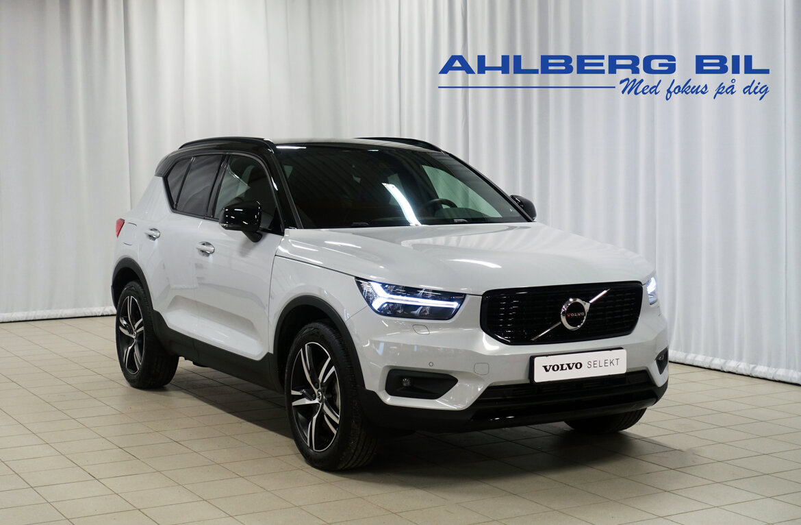 Volvo XC40 T5 Recharge R-Design Silver