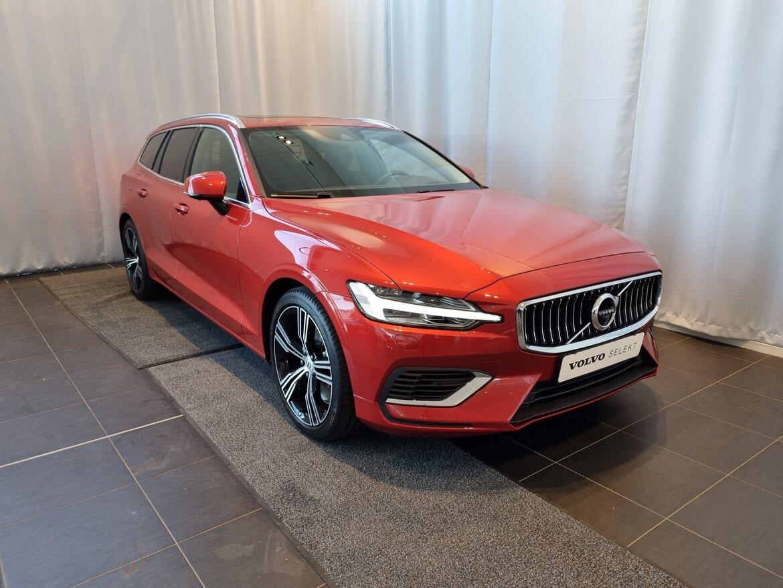 Volvo V60 Inscription Röd