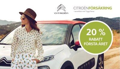 Försäkrad från start med Citroën Försäkring