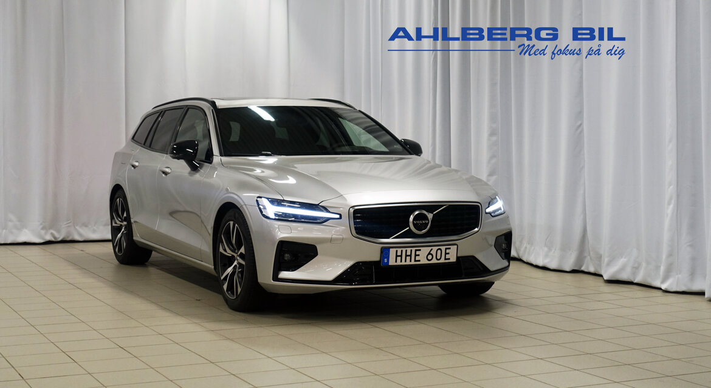 Volvo V60 R-Design Silver