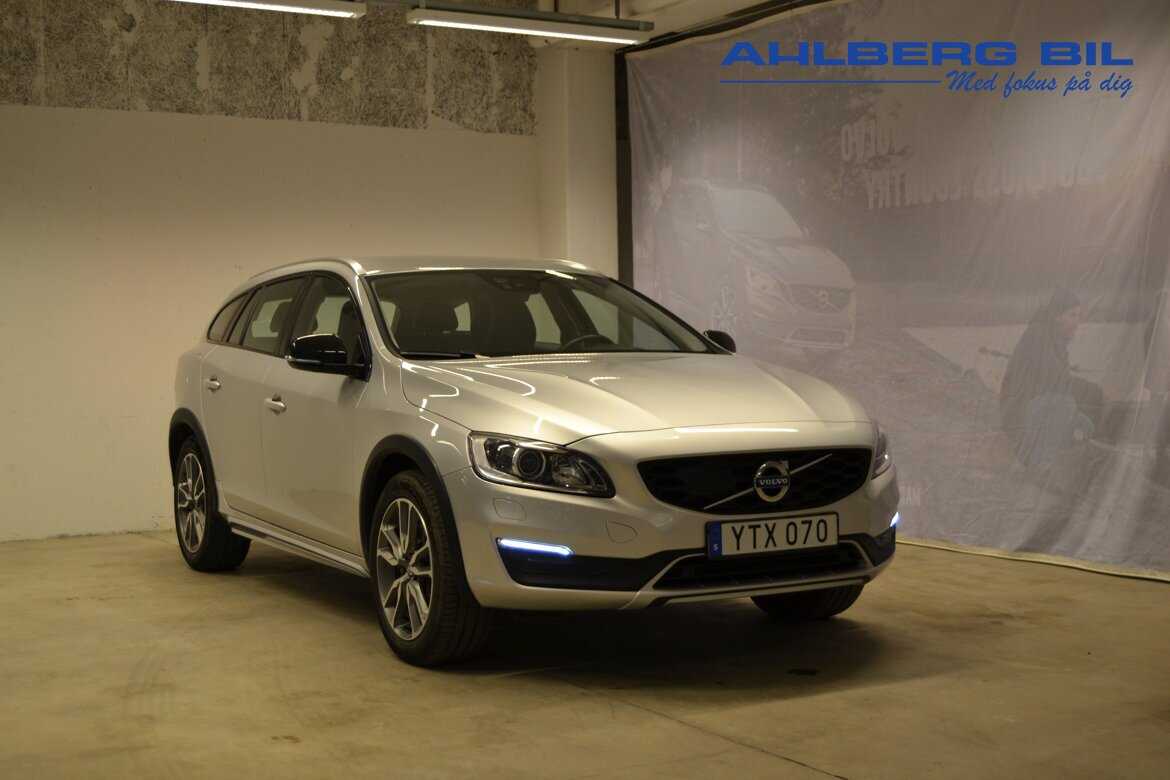 Volvo V60 Cross Country Summum, Classic Silver