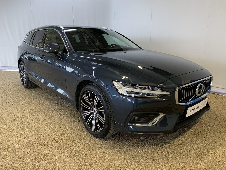 Volvo V60 Inscription Blå