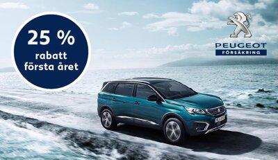 Försäkrad från start med Peugeot Försäkring