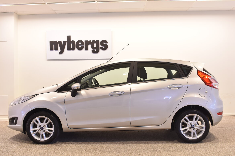 Nybergs Bil Jönköping (Jönköping, Sweden) Ford Fiesta 1.0 100 Titan 5-d 2017
