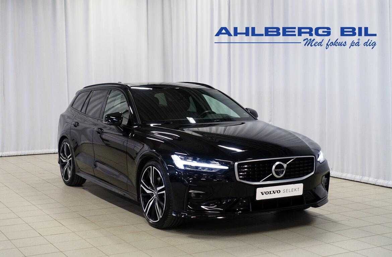 Volvo V60 R-Design Svart