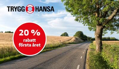 Försäkrad från start hos Trygg-Hansa