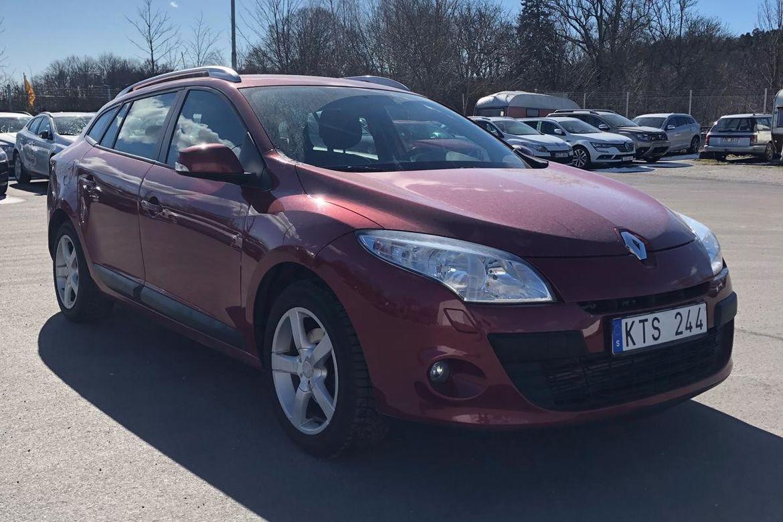 Renault Mégane 1.9 dCi FAP Expression Touring Röd