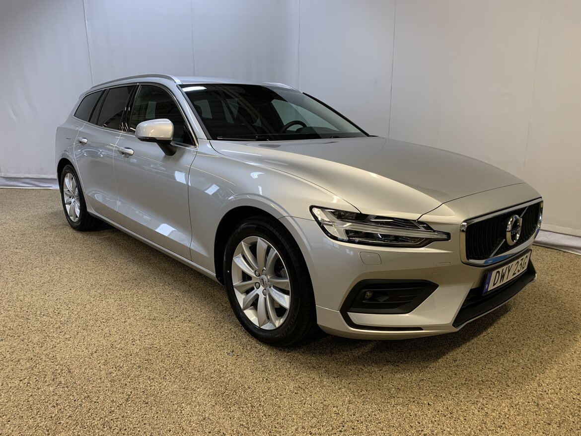 Volvo V60 Momentum, Advanced Edition Silver