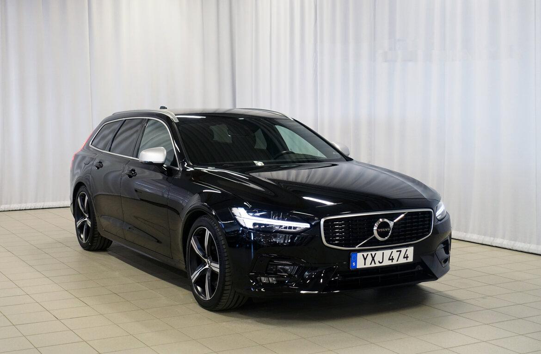 Volvo V90 R-Design Svart