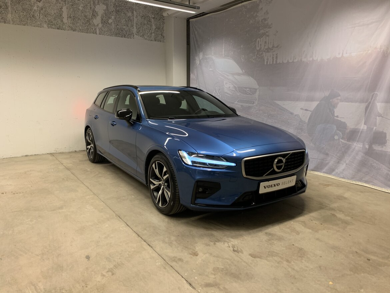 Volvo V60 R-Design Blå