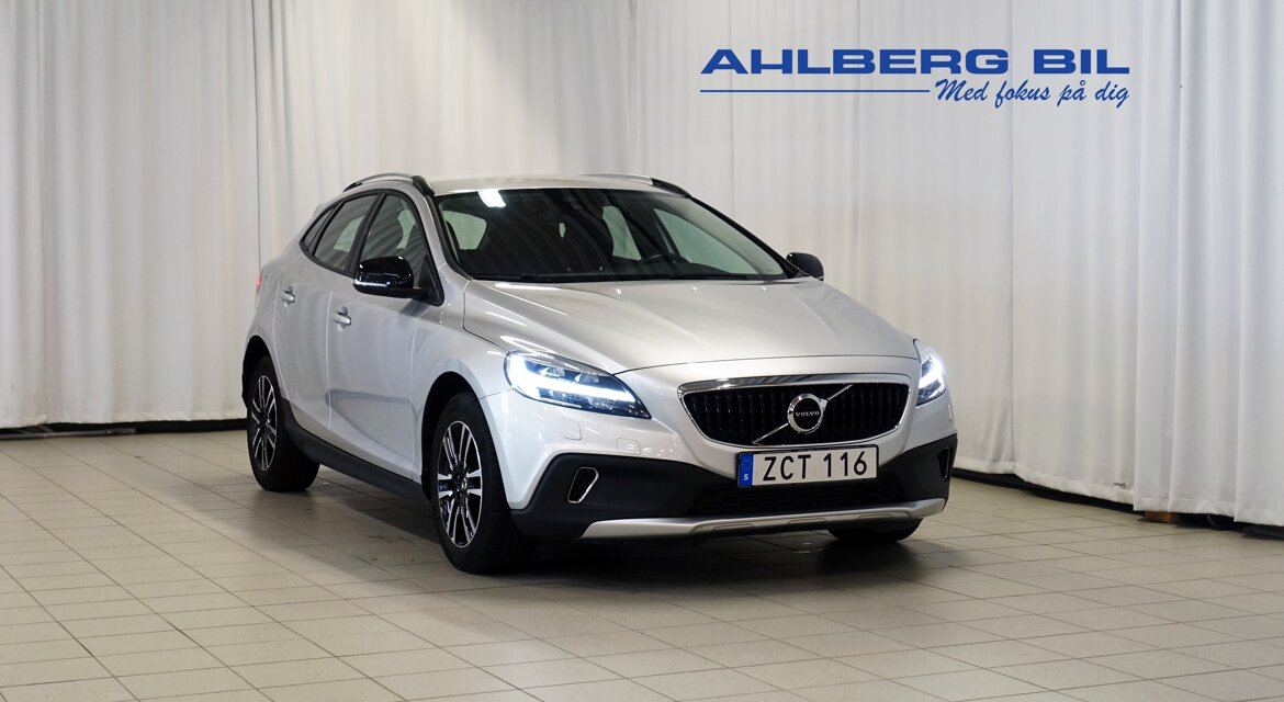 Volvo V40 Cross Country Momentum Silver