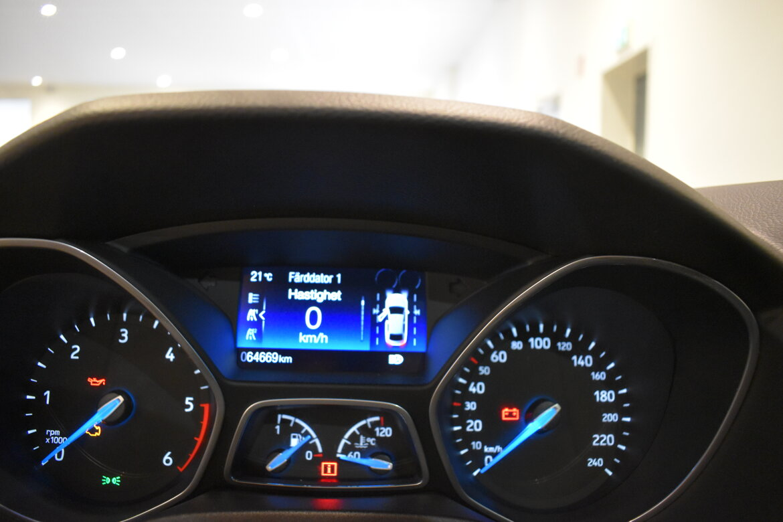 Nybergs Bil Nässjö Ford Focus 1.5 TDCi 120 Titanium 2016