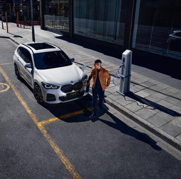 BMW X1 xDrive 25e Connected edition & Model Sport – pris fr. 4 495 kr/mån inkl miljöbonus*