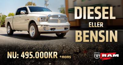 Dodge Ram - Diesel eller Bensin