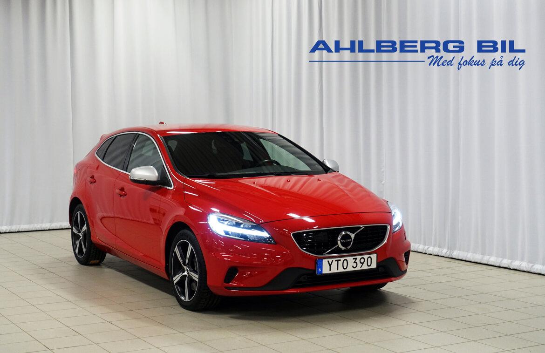 Volvo V40 Momentum, R-Design Röd