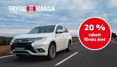 Försäkrad från start med Bilförsäkring för Mitsubishi