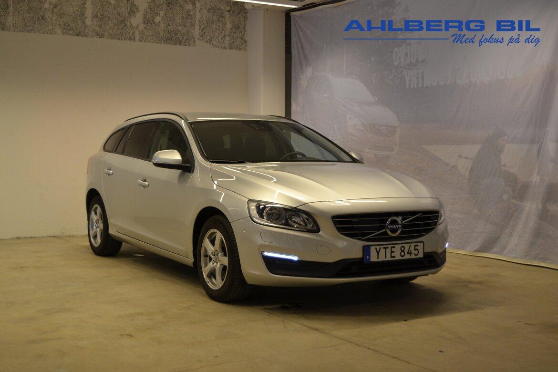 Volvo V60 Kinetic, Classic Silver