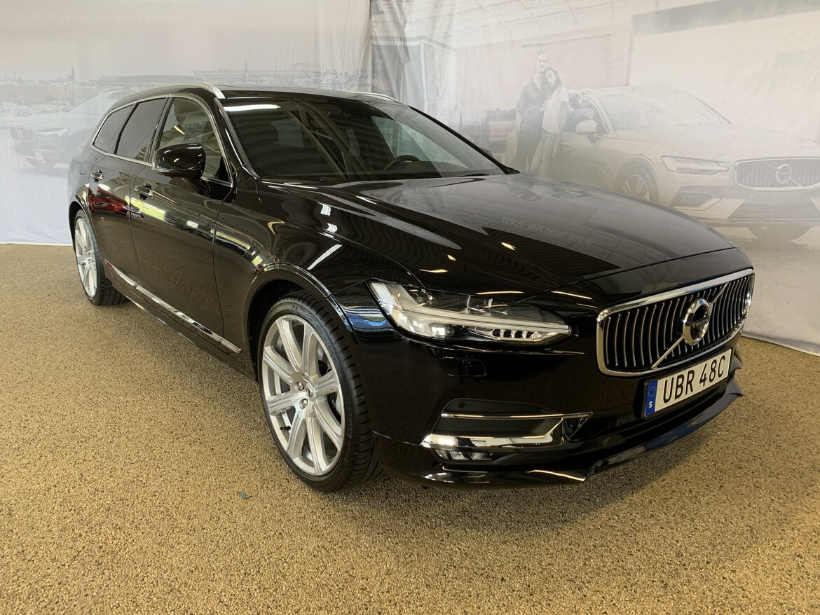Volvo V90 Inscription Svart