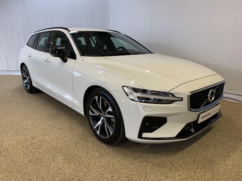 Volvo V60 R-Design Vit