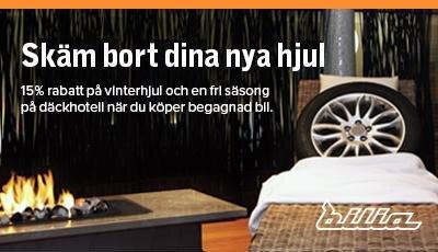 Erbjudande när du köper en begagnad bil hos Bilia