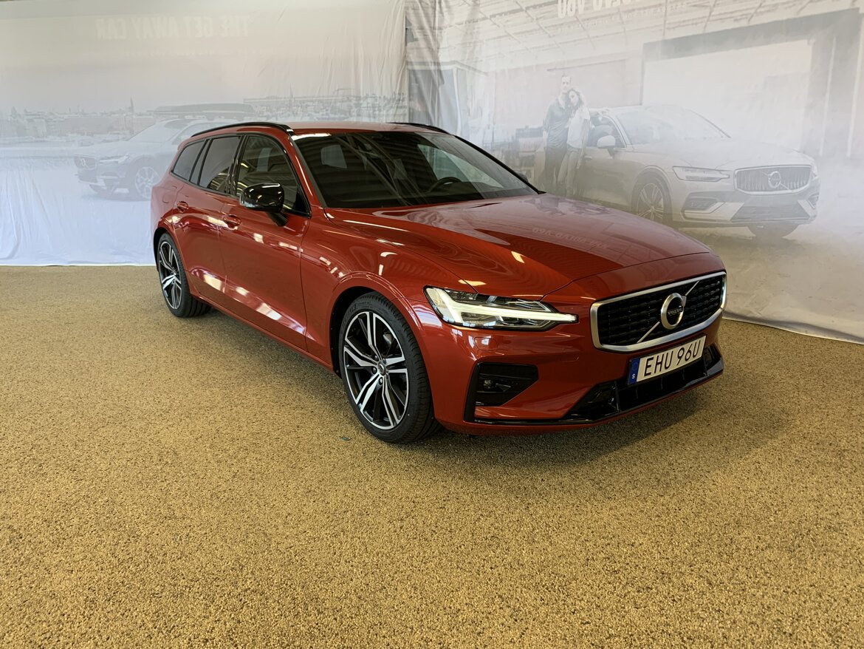 Volvo V60 R-Design Röd