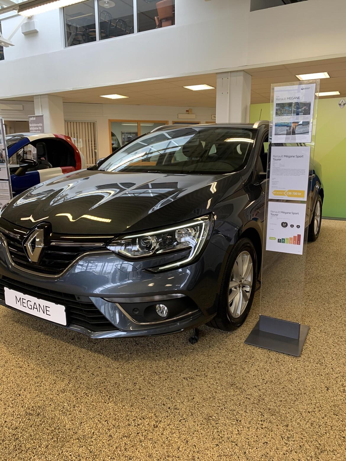 Renault Mégane  Grå